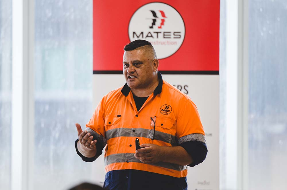 Meet Richie Hepi one of MATES in Construction Field Officers