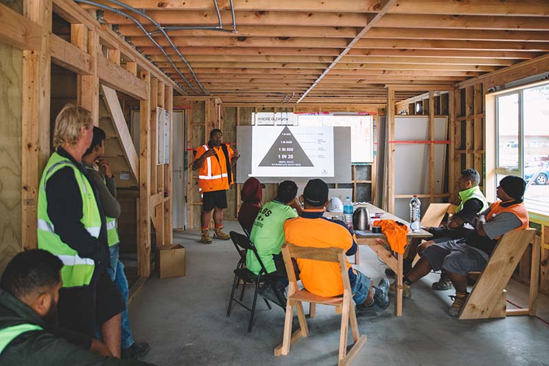 Support from our team | MATES in Construction NZ | Mental health in construction