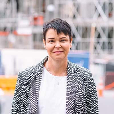 Victoria McArthur MATES in Construction NZ CEO