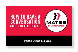 MATES in Construction NZ | How to have a conversation about mental health