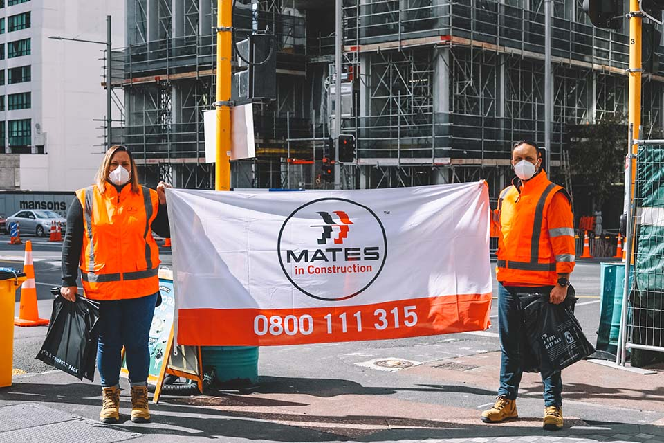 MATES fly the flag delivery august